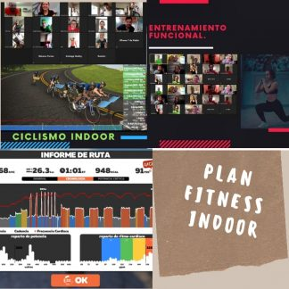 Plan Fitness Indoor a Distancia.